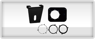 Car Audio Speaker Brackets & Hardware