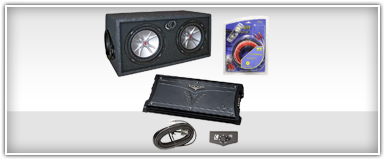 Dual 8 Inch Car Audio Package