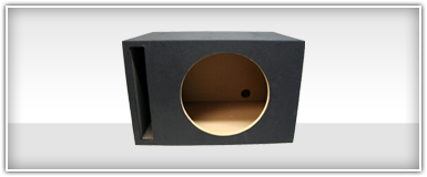 Single 18 Inch Unloaded Enclosure