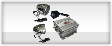 Snowmobile Amplifier & Speaker Combos