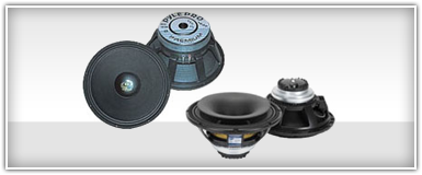 Pro Audio Replacement Subwoofers