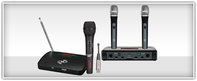 Pro Audio Wireless Microphones