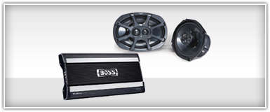 Car Audio Amp & Speakers Combo
