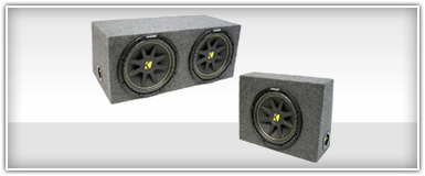 Loaded Subwoofer Enclosures