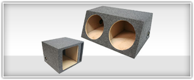 Unloaded Subwoofer Enclosures