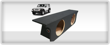 Jeep Custom Subwoofer Enclosure