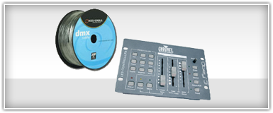 Pro Lighting DMX Controllers & Cables