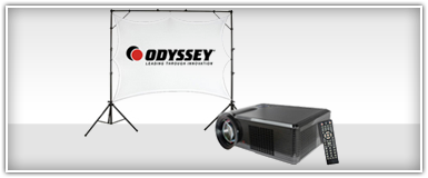 Video Projectors & Screens